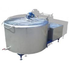 Танк-охладитель молока открытого типа Cold Pool Vertical